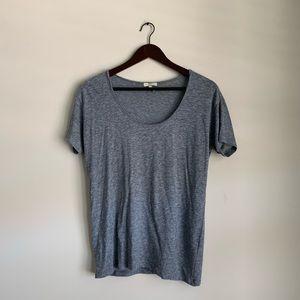 Joie Heather Blue Short Sleeve Tshirt Tee Small